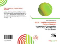 Buchcover von 2001 Telenordia Swedish Open – Doubles