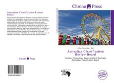 Bookcover of Australian Classification Review Board