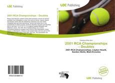 Обложка 2001 RCA Championships – Doubles