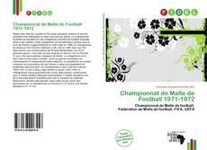 Bookcover of Championnat de Malte de Football 1971-1972