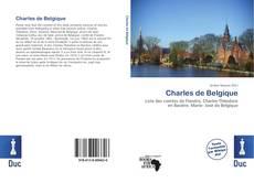 Capa do livro de Charles de Belgique