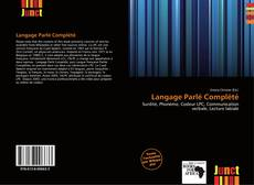 Couverture de Langage Parlé Complété