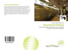 Capa do livro de Krasnoyarsk Railway