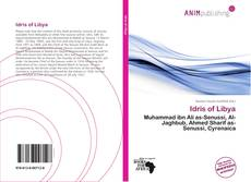 Bookcover of Idris of Libya