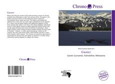 Bookcover of Gaster