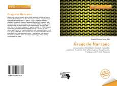 Bookcover of Gregorio Manzano