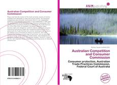 Bookcover of Australian Competition and Consumer Commission