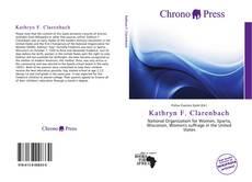 Capa do livro de Kathryn F. Clarenbach