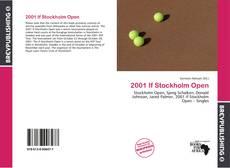 Portada del libro de 2001 If Stockholm Open