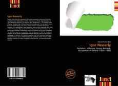 Capa do livro de Igor Newerly