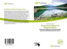 Bookcover of Australian Defence Organisation