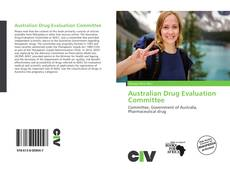 Australian Drug Evaluation Committee kitap kapağı