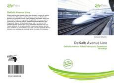 Capa do livro de DeKalb Avenue Line