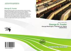 Buchcover von George D. Fowler