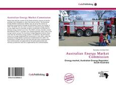 Capa do livro de Australian Energy Market Commission