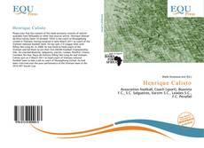 Henrique Calisto kitap kapağı