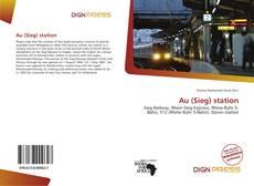 Buchcover von Au (Sieg) station