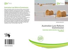 Australian Law Reform Commission kitap kapağı