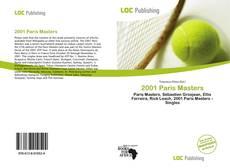Bookcover of 2001 Paris Masters
