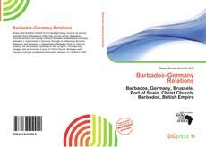 Capa do livro de Barbados–Germany Relations
