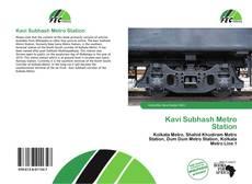 Bookcover of Kavi Subhash Metro Station