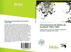 Portada del libro de Championnat de Malte de Football 1983-1984