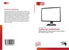 Catherine Sutherland的封面