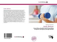 Capa do livro de Andy Bolton