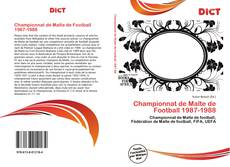Bookcover of Championnat de Malte de Football 1987-1988