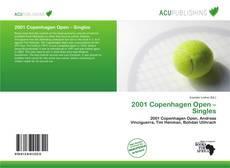2001 Copenhagen Open – Singles的封面