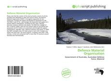 Bookcover of Defence Materiel Organisation