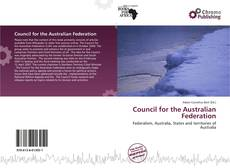 Bookcover of Council for the Australian Federation