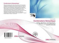 Combinatoire Sémantique kitap kapağı
