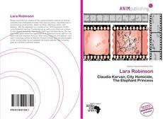 Copertina di Lara Robinson