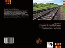 Portada del libro de Empire United Railways