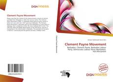 Bookcover of Clement Payne Movement