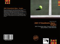 Bookcover of 2001 If Stockholm Open – Singles