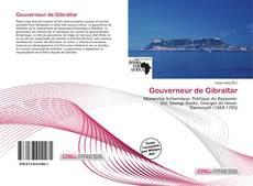 Bookcover of Gouverneur de Gibraltar