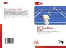 Обложка 2001 Paris Masters – Singles