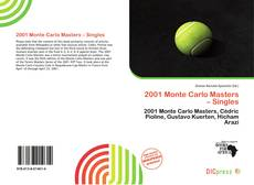 Обложка 2001 Monte Carlo Masters – Singles