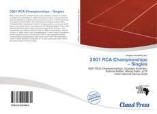 Borítókép a  2001 RCA Championships – Singles - hoz