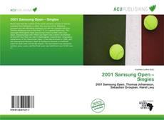 Couverture de 2001 Samsung Open – Singles