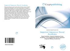 Bookcover of Imperial Japanese Naval Academy