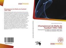 Bookcover of Championnat de Malte de Football 1995-1996