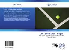 Bookcover of 2001 Salem Open – Singles