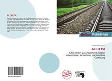 Bookcover of ALCO PA