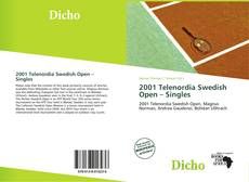 Capa do livro de 2001 Telenordia Swedish Open – Singles