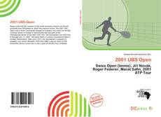 Bookcover of 2001 UBS Open