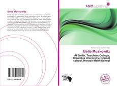 Capa do livro de Belle Moskowitz