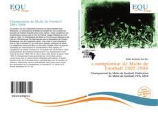 Bookcover of Championnat de Malte de Football 2005-2006